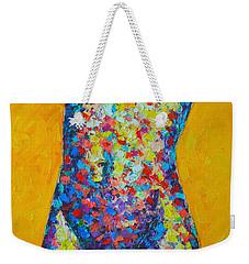 Colorful Nude  Weekender Tote Bag