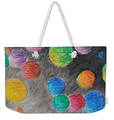 Colorful Orbs Weekender Tote Bag