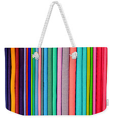 Colorful Pashminas Weekender Tote Bag