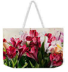 Colorful Peruvian Lillys Weekender Tote Bag