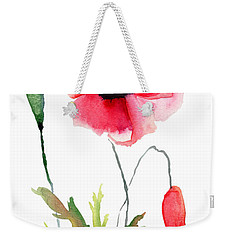 Colorful Poppy Flowers Weekender Tote Bag