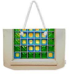 Colorful Savannah Window Weekender Tote Bag by Gary Slawsky