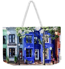 Alexandria Va - Colorful Street Weekender Tote Bag