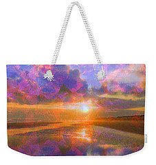 Colorful Sunset By Jan Marvin Weekender Tote Bag