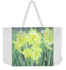 Colorful  Yellow Flowers Weekender Tote Bag