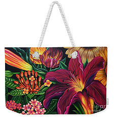 Colors Garden Weekender Tote Bag
