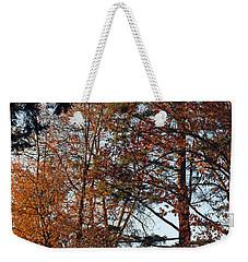 Colors Of Autumn Weekender Tote Bag by Tikvah's Hope