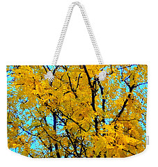 Colors Of Fall - Smatter Weekender Tote Bag