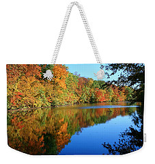 Colors Of Fall Weekender Tote Bag by Susan  McMenamin