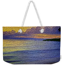 Colors Of Paradise Weekender Tote Bag by Anthony Fishburne