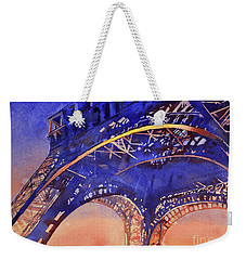Colors Of Paris- Eiffel Tower Weekender Tote Bag