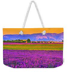 Colors Of Provence Weekender Tote Bag