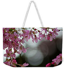 Weekender Tote Bag featuring the photograph Colors Of Spring - Cherry Blossoms by Jordan Blackstone