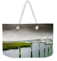 Weekender Tote Bag featuring the photograph Colors Of The Coast by Steven Santamour