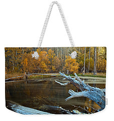 Colors Of The Forest Weekender Tote Bag by Jonathan Nguyen