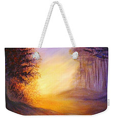 Colors Of The Morning Light Weekender Tote Bag by Lilia D