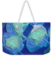 Weekender Tote Bag featuring the photograph Colors Of The Sea 1 by Nadalyn Larsen