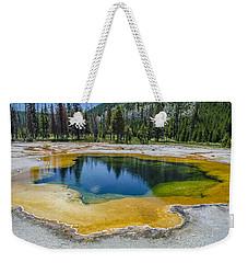 Colors Of Yellowstone Weekender Tote Bag