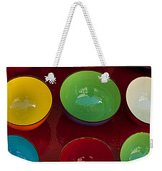 Colors Tray Weekender Tote Bag