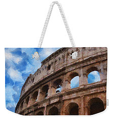 Colosseo Weekender Tote Bag by Jeff Kolker