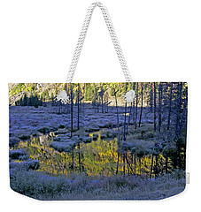 Weekender Tote Bag featuring the photograph Colour Palette by Jeremy Rhoades