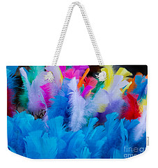 Coloured Easter Feathers Weekender Tote Bag