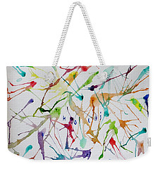Colourful Holi Weekender Tote Bag by Sonali Gangane