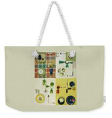 Colourful Table Settings Weekender Tote Bag