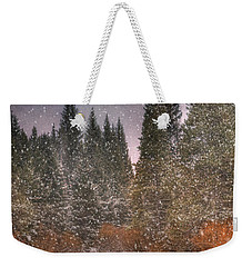 Colours Of Winter Weekender Tote Bag