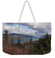 Weekender Tote Bag featuring the photograph Columbia Gorge by Belinda Greb