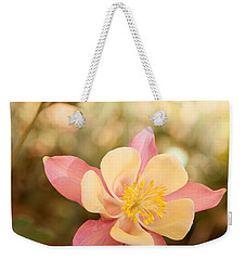 Columbine Weekender Tote Bag by Roselynne Broussard