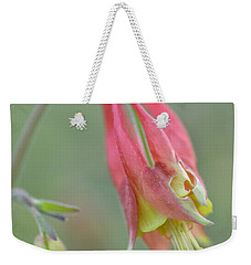 Columbine Softly  Weekender Tote Bag