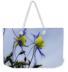 Columbines Weekender Tote Bag by Peter v Quenter