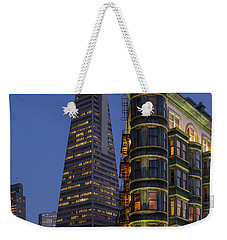 Columbus And Transamerica Buildings Weekender Tote Bag