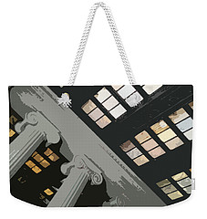Columns Weekender Tote Bag by Julio Lopez