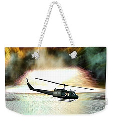 Combat Helicopter Weekender Tote Bag