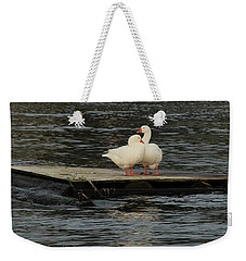 Come Closer My Love Weekender Tote Bag by E Faithe Lester