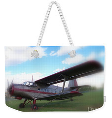 Come Fly With Me Weekender Tote Bag by Lingfai Leung