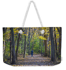 Weekender Tote Bag featuring the photograph Come For A Walk by Sebastian Musial