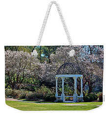 Come Into The Garden Weekender Tote Bag by Cynthia Guinn