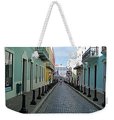 Weekender Tote Bag featuring the photograph San Juan Puerto Rico by Roberta Byram