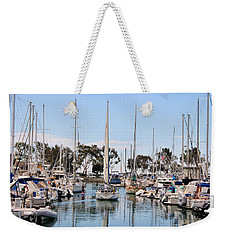 Weekender Tote Bag featuring the photograph Come Sail Away by Tammy Espino
