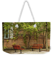 Come Sit With Me Weekender Tote Bag