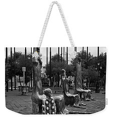 Weekender Tote Bag featuring the photograph Come Sit With Us by Lynn Palmer