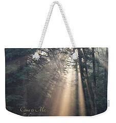 Come To Me Weekender Tote Bag