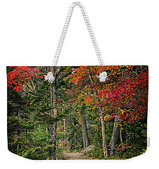 Weekender Tote Bag featuring the photograph Come Walk With Me by Priscilla Burgers