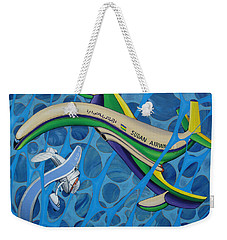 Comet - Vega Near Collission Weekender Tote Bag