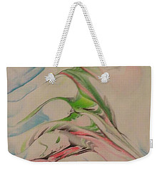 Weekender Tote Bag featuring the painting Comfort by Mike Breau