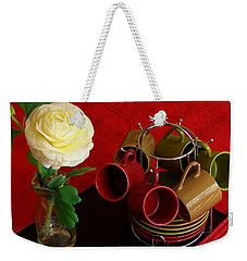 Weekender Tote Bag featuring the photograph Comfort Zone by Rodney Lee Williams