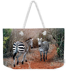 Coming And Going Weekender Tote Bag by Phyllis Kaltenbach